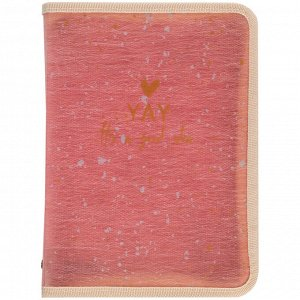 Папка объемная на молнии Axent 1804-14-A, А4+, Shade Coral