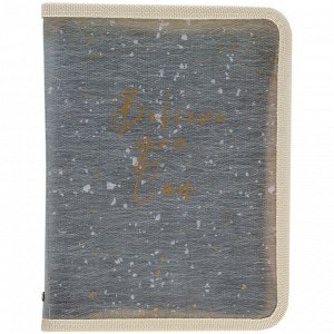 Папка объемная на молнии Axent 1804-15-A, А4+, Shade Green