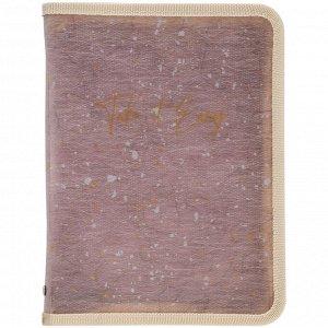 Папка объемная на молнии Axent 1804-16-A, А4+, Shade Violet
