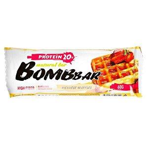 Батончик Bombbar протеиновый VIENNESE WAFFLES 60 г