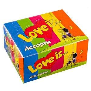 Жевательная резинка LOVE IS. Ассорти