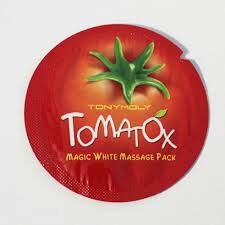 Tony Moly Маска отбеливающая с томатом (пробник)Tomatox Magic White Massage Pack