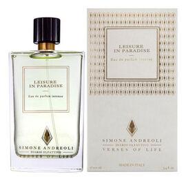 Распив Leisure In Paradise — расслабляющий и невероятно комфортный древесно-фруктовый унисекс-парфюм, выпущенный в 2020 году под маркой парфюмерного бренда Simone Andreoli. Ароматическая композиция вд