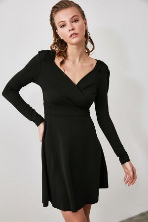 Платье %90 Polyester %10 Elastan