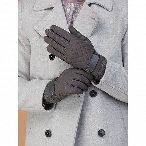 Перчатки мужские п/ш LB-0800 цвет темно-серый, размер 9.5 5466339