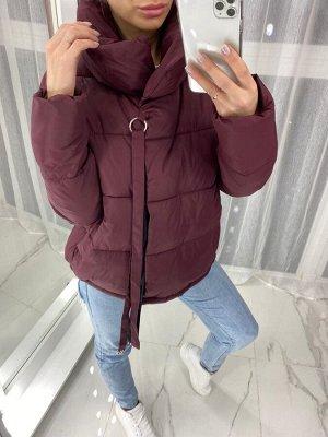 Куртка женская 105 - Бордовая