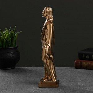 """Фигура """"Иисус"""" бронза, 26х10х6,5см"""