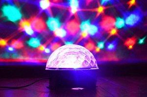 Музыкальный диско шар Led Crystal Magic Ball Light