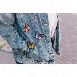 Набор термоаппликаций «Бабочки», 3 шт