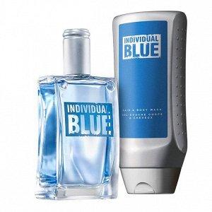 """Парфюмерно-косметический набор """"Individual Blue для него"""""""