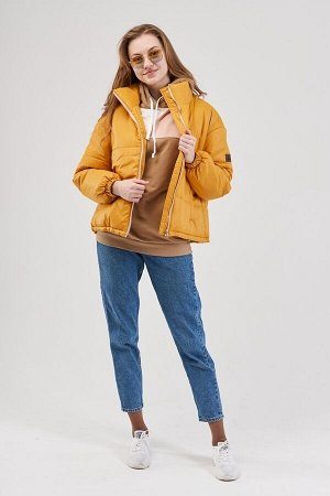 "Куртка женская ""Бостон"" горчица"