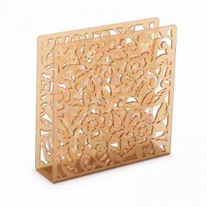 Салфетница Салфетница [БРИСТОЛЬ] ЗОЛОТОЙ.Салфетница - это отличный аксессуар на каждый день, сочетающий в себе привлекательный дизайн и необходимую практичность. Выполнена из высококачественного пласт