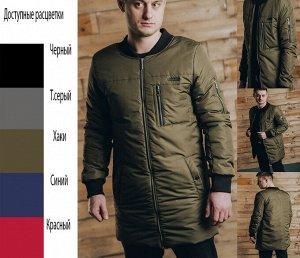 Удлиненный куртка-бомбер Арт. 344