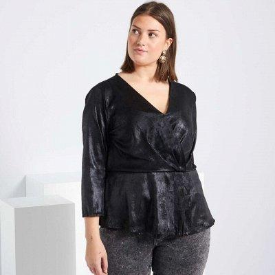 Французская одежда для всей семьи. Зимняя РАСПРОДАЖА ДО -70% — Большие размеры для женщин. Рубашки,  футболки, топы — Большие размеры