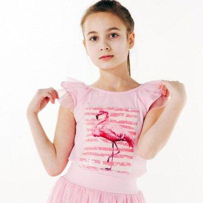 ‼ТМ Смил. Закрытие марки. Скидки до -70%. Детский трикотаж — Майки, футболки . Девочки — Для девочек