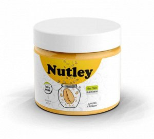 Паста Nutley арахисовая с кусочками (Crunchy) - 300 гр