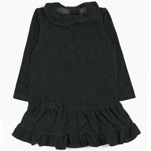 Платье велюр 269В1/4 для девочки