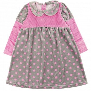 Платье велюр 166В2/2 для девочки