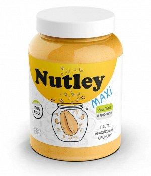 Паста Nutley арахисовая с кусочками (Crunchy) - 1000 гр