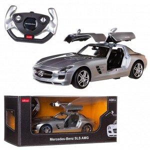 Машина р/у 1:14 Mercedes-Benz SLS AMG, цвет серебряный 40MHZ100