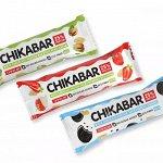 Chikalab  CHIKABAR Протеиновый батончик (не содержит сахара)