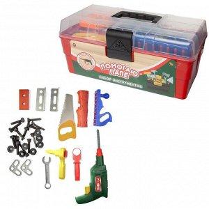 Игровой набор ABtoys Помогаю папе в ящике, 33 предмета1050
