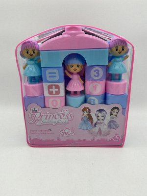 Конструктор детский Blocks Funny Toys в рюкзачке 36 деталей