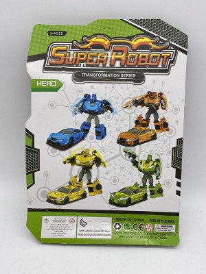 Трансформер робот-машинка 4 дизайна