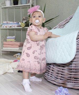 """Платье для девочки""""Огурчик"""""""