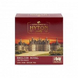 Чай цейлонский Английский  Королевский 100 пакетиков