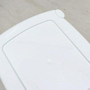 Комод 4-x секционный Виолет «Ажур», цвет белый