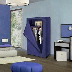 Шкаф для одежды 75?46?160 см, цвет синий