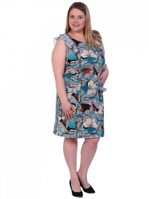 Платье хлопок 100% Описание: Платье женское из кулирки прямого покроя.