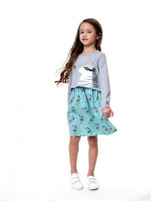 Набор для девочки(платье детское, футболка для девочки)