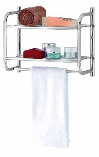 Юнистор - качество и стиль для вашего дома — Полки для ванной комнаты — Ванная