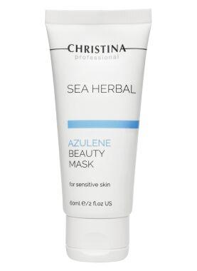 Маска красоты азуленовая для чувствительной кожи / Sea Herbal Beauty Mask Azulene Christina