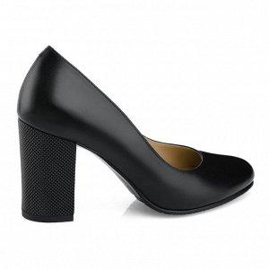 Туфли на устойчивом каблуке. Модель 2371 эк