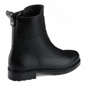 Женские ботинки. Модель 3227 н черная наппа (зима)