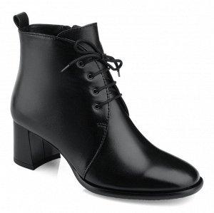 Ботинки женские со шнуровкой. Модель 3232 б (демисезон)
