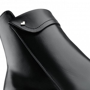 Ботинки на среднем каблуке. Модель 3233 б (демисезон)