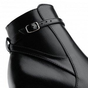 Ботинки на среднем каблуке. Модель 3234 б ст (демисезон)