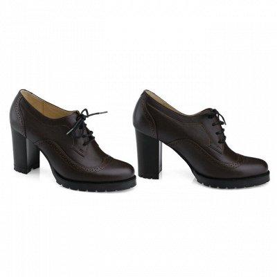 Sateg-8. Обувь из натуральной кожи 33-43 размера — Балетки, лоферы, закрытые туфли
