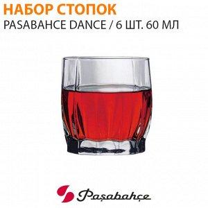 Набор стопок Pasabahce Dance / 6 шт. 60 мл
