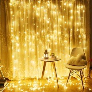 """Гирлянда """"Светлячки для крошки Эмми"""" Желтая"""