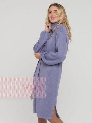Платье женское 30853 лванда/метонить сильвер