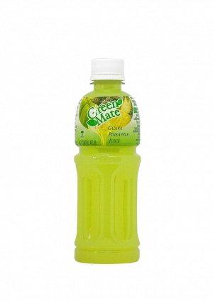 """Безалкогольный напиток """"Green Mate"""" с соком гуавы и ананаса"""