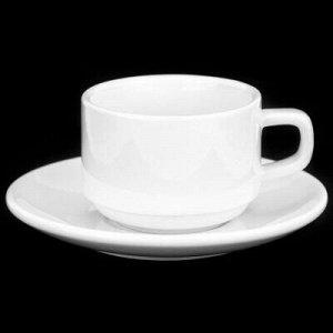 """""""Белье"""" Чашка кофейная фарфоровая 130мл, д7,3см, h5,2см, с б"""