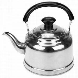 """""""Студентка"""" Чайник из нержавеющей стали 1,2л, д14,5см h14см."""