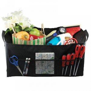 Сумка-контейнер в багажник 55х38х25см, цветная коробка (Кита