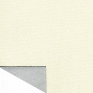 Штора рулонная светонепроницаемая (Блэкаут) BRABIX 60х175 см, кремовый/серебро, 606008